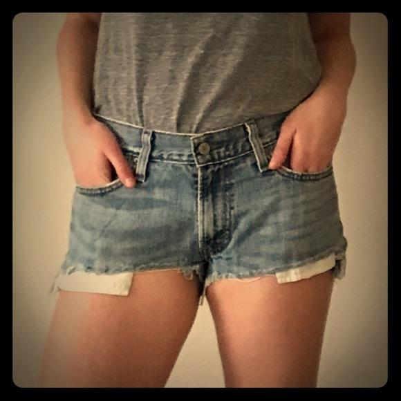 Levi's Pants - Levi's Urban Renewal Denim Shorts